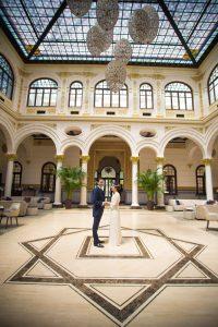 Reportajes de Bodas en Gran hotel Miramar, en Málaga